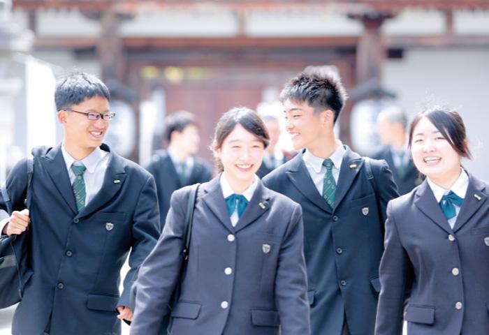 洛南高等学校の学園生活