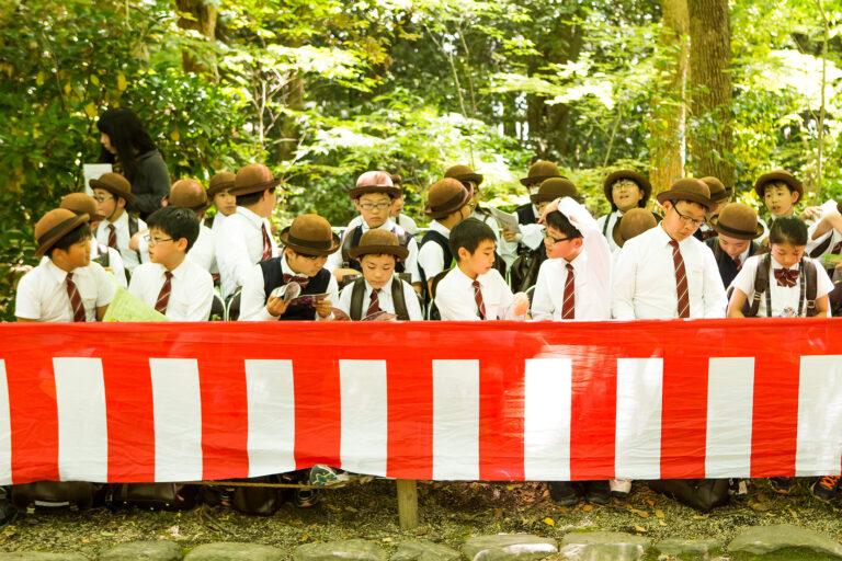 2017年5月15日 6年生・葵祭見学