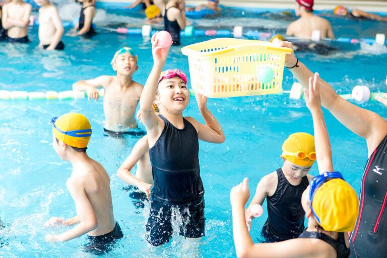 2017年 1, 2, 3年生・水泳学習