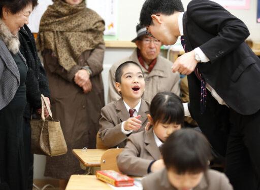 2017年 洛南小学校 祖父母参観日