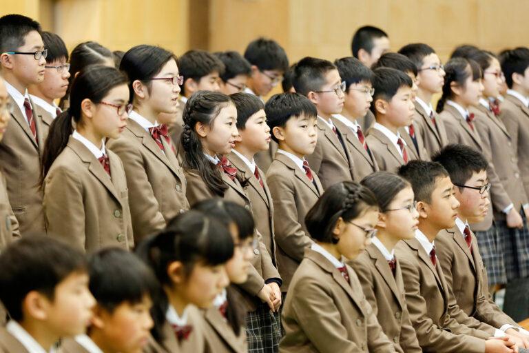 2018-洛南高等学校附属小学校卒業式