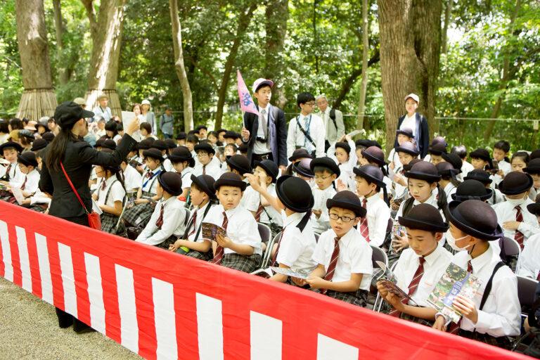 2018 4学年 葵祭見学