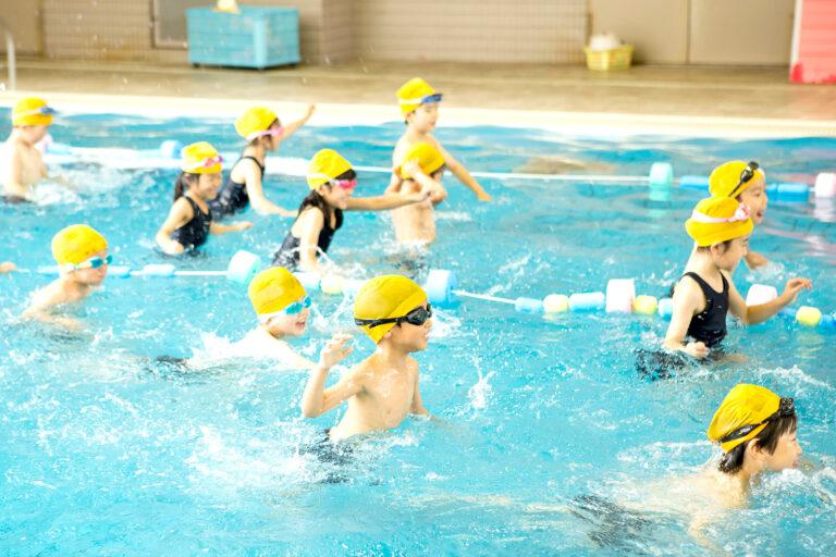 2018 1.2.3学年水泳学習