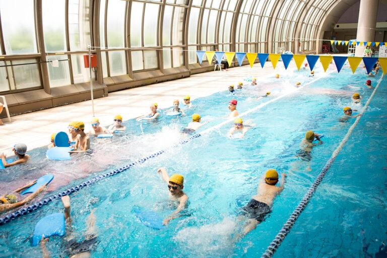 2018 4.5.6学年水泳学習