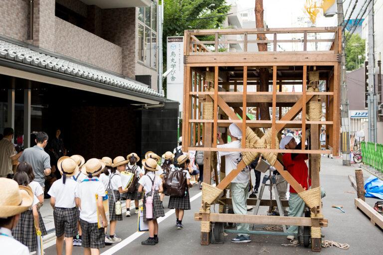 2018 祇園祭見学