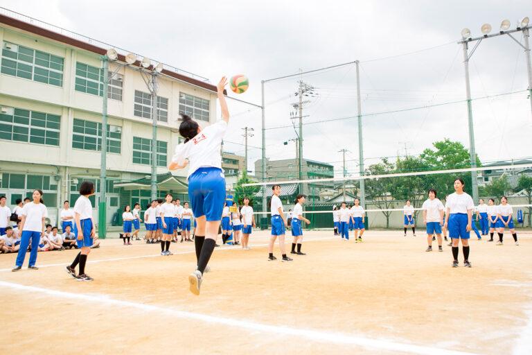 2018 洛南高等学校 バレーボール大会
