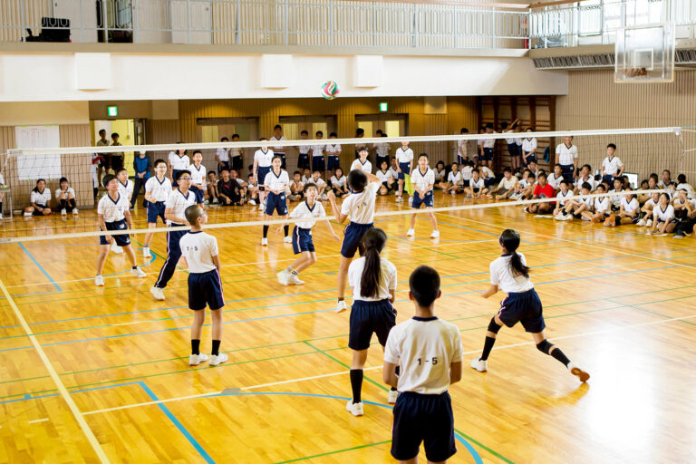 2018 洛南高等学校附属中学校 バレーボール大会