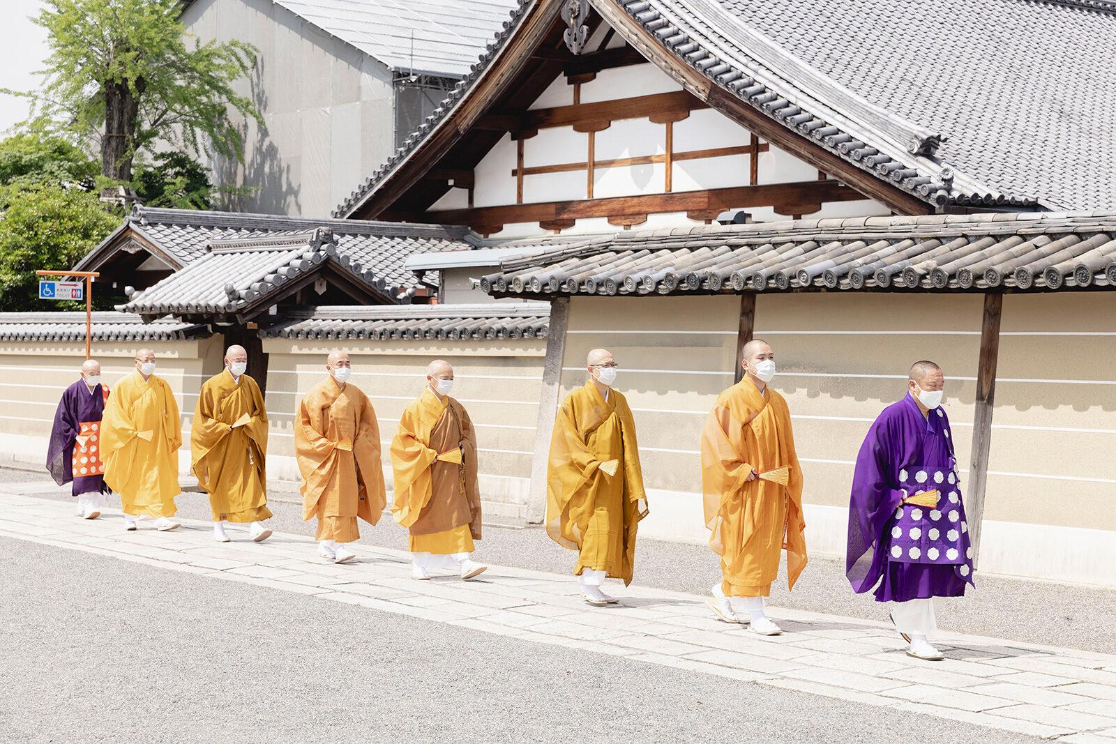 2021 1年生 東寺参拝