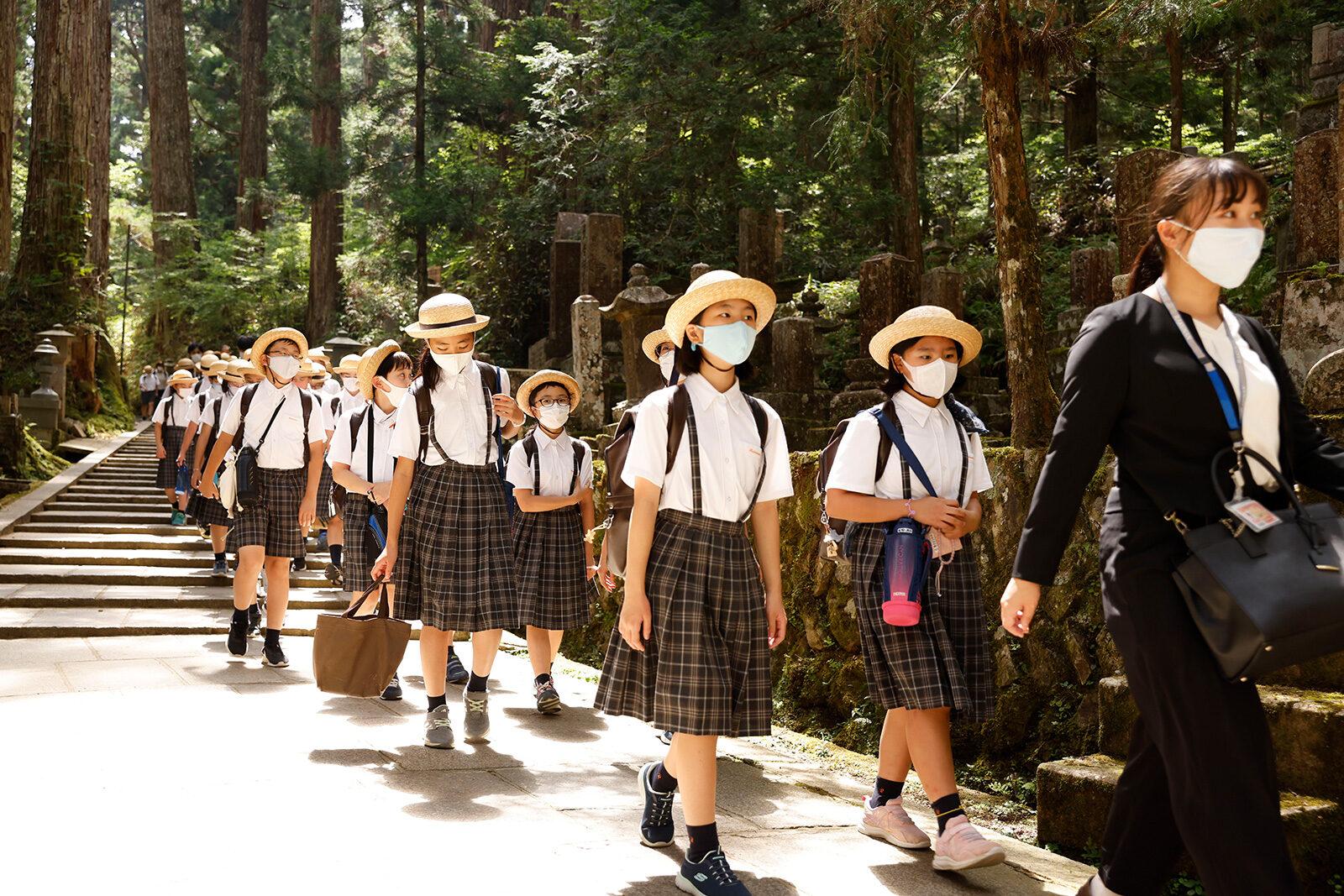 2021 小学6年生 高野山特別学習